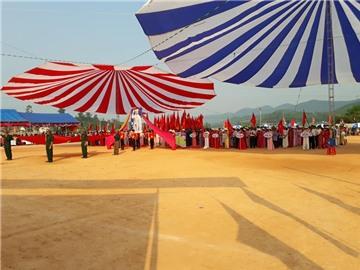 Xã Kim Thành - huyện Yên Thành tổ chức lễ kỷ niệm 20 năm thành lập xã và đón bằng công nhận Xã đạt chuẩn nông thôn mới