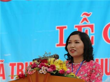 Xã Trung Sơn đón Bằng công nhận xã đạt chuẩn Nông thôn mới