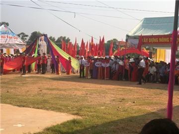 Mã Thành đón nhận bằng công nhận xã đạt chuẩn nông thôn mới