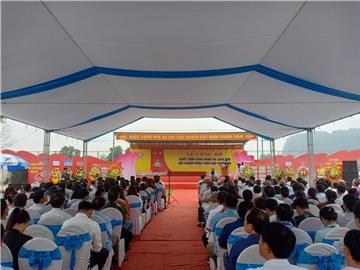 Lễ công bố xã Long Sơn,huyện Anh Sơn đạt chuẩn Nông thôn mới năm 2019